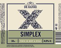 De Ranke brewery branding