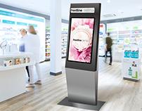 Info Kiosk Project - UI/UX design