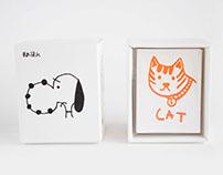 AKI LITTLE ZINES-CAT/小豆本《猫》