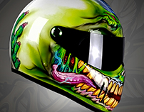 Blaze Artworks Vinyl Zombie Helmet