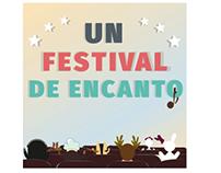 """Cuento infantil """"Un festival de encanto"""""""