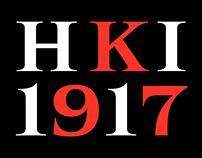HKI1917 Custom Typeface