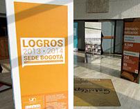 """Exposición """"Logros 2013-2014 UN Sede Bogotá"""""""