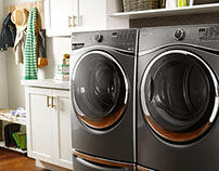 Whirlpool Laundry Set Design and Photograhy