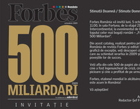"My articles published in ""FORBES 500 Billionaires"""