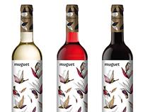Wine branding • Muguet