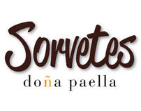 Sorvetes Doña Paella package label