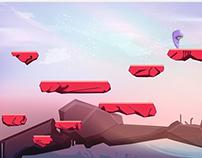 2D - platform game - illustration - character design