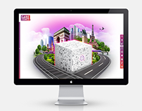 SNCF - microsite - digital compositing - web design