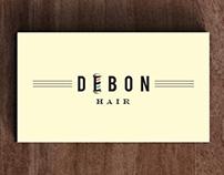 Debon Hair Logotype