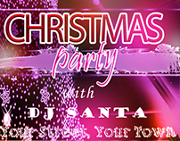 Freebie- Christmas Party Club Flyer Template