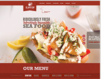 SlapFish - Website