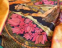 Leela : Story on a saree