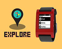 Explore - App for Pebble Watch