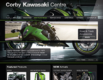 Corby Kawasaki Centre: Website