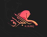 Buraq islamic logo design