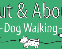 Out & About Dog Walking promotional materials
