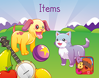 MiniMo Town - Items