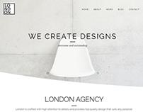 London - Retina Wordpress Theme