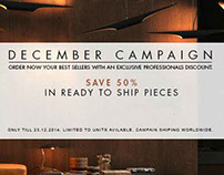DECEMBER CAMPAIGN | SAVE 50%