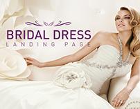 Bridal Dress - Landing Page