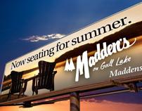 Madden's Resort Billboard Campaign