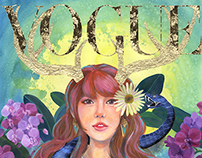 Vogue Magazine Illustration