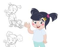 Animação-Papai noel e eu