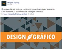 Design da Página MDigital