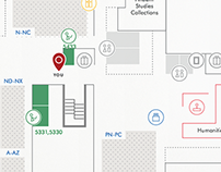 Library Map & Wayfinding System