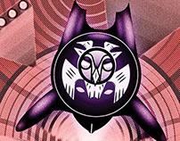 The Screech - Owl-Themed Superhero