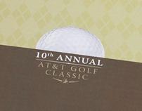 AT&T Golf Classic Invitation