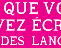 Décongelant: Typeface Design