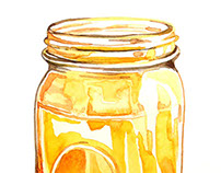 Water Colour Jar, 2014
