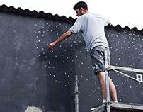 'Infiltration III' mural