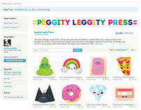 Etsy : Peggity Leggity Press