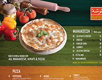 Manoushe Street Delivery Menu