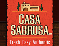 Casa Sabrosa - New Product Branding Campaign