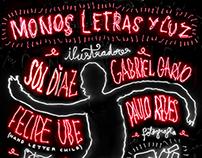 5to Desafío de ilustración - Monos, letras y luz