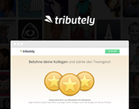 tributely - Landingpage