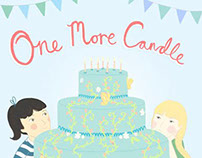 One More Candle - Picture Book Illustration