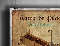 Cartaz - Taipa de Pilão