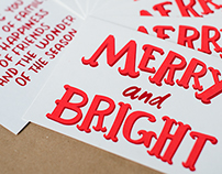 Merry and Bright: Holiday Card 2014