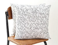 Forever Mountains Pillow | Original Fabric