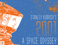 2001: A Space Odyssey DVD/Blu-Ray Cover