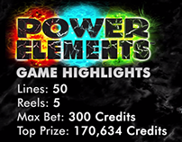 Power Elements - ©2014 Multimedia Games