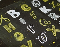 Hand Lettered Alphabet Prints