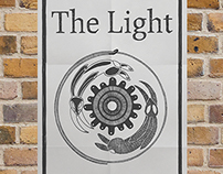 The Light. Branding, collateral, and art.