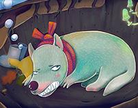 Hungry Sleepy Wolf