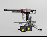 Car Battery Railgun